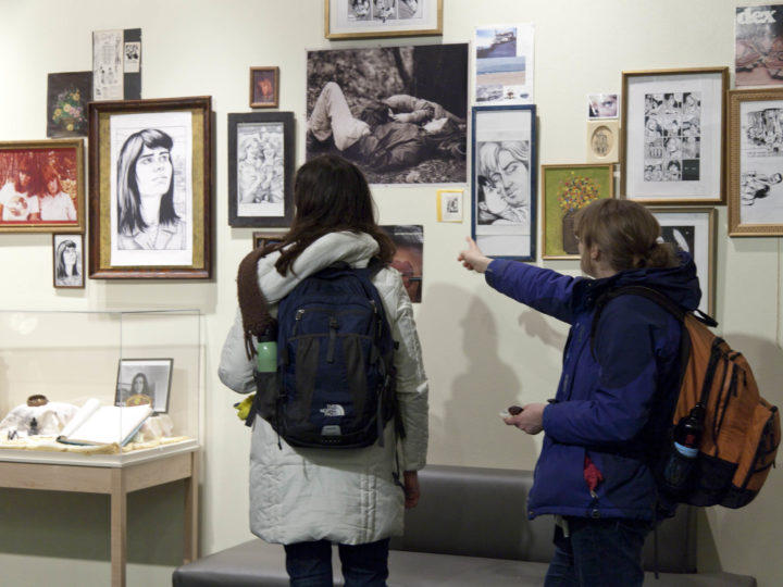 Diary of a Teenage Girl: Pop-Up Exhibition by Phoebe Gloeckner at the Institute for the Humanities.