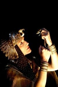 Harriet Walter as Cleopatra.