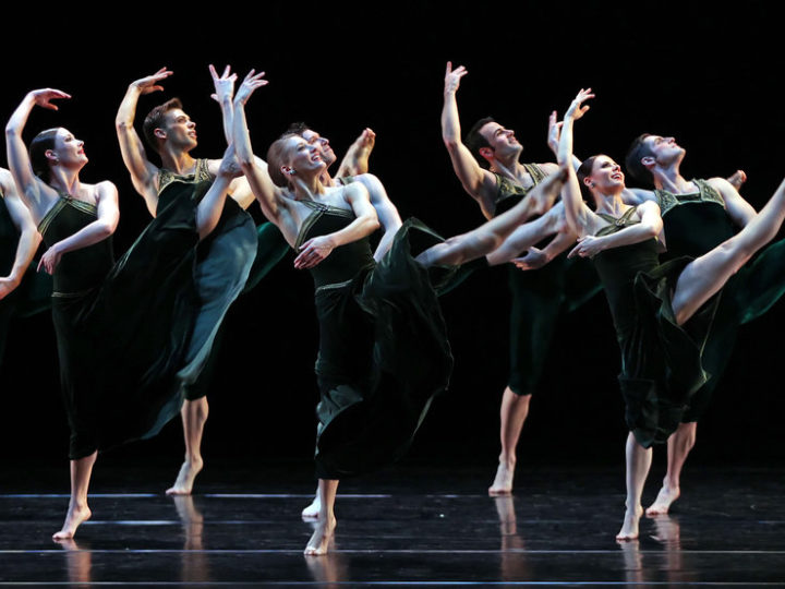 U-M dance students will perform with the Paul Taylor Dance Co. Photo by Andrea Mohin of The New York Times.