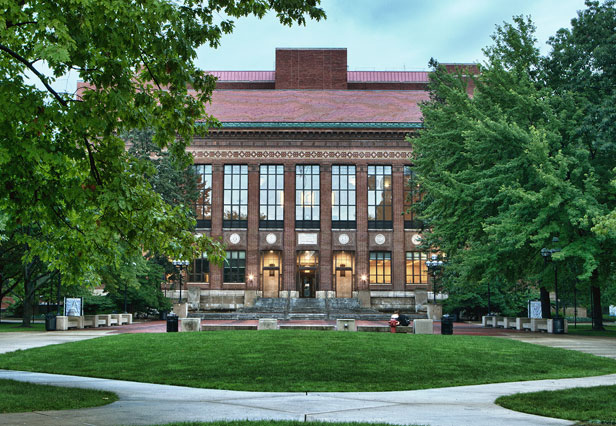 The Hatcher Graduate Library.