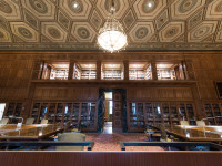 Interior, University of Michigan William L. Clements Library