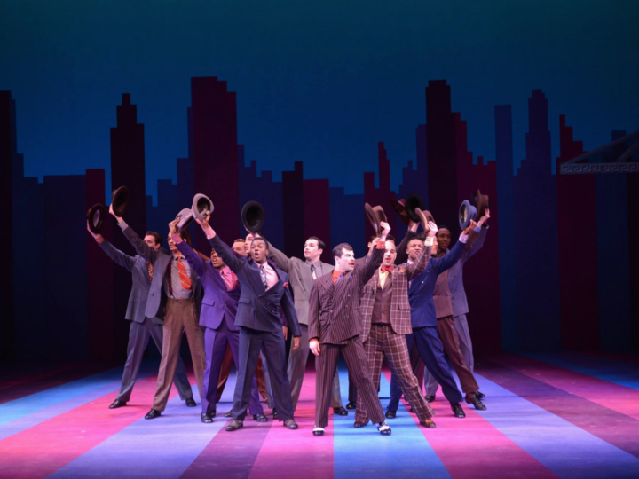 "Photo from the Musical Theatre's recent production of ""Guys & Dolls."" Courtesy of the U-M School of Music, Theatre & Dance."