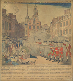 The Bloody Massacre, 1770