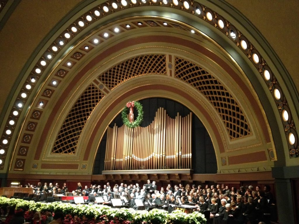 Handel's Messiah at Hill Auditorium