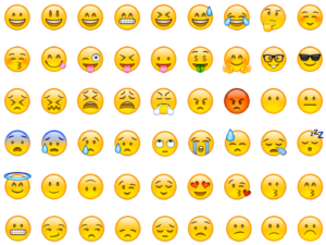 Most people have specific preferences for what emojis to commonly use.