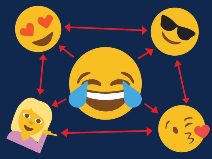 U-M doctoral student Wei Ai and colleagues analyzed the relationship of the symbols to words, to measure emoji semantics and to figure out what makes some symbols more popular than others.