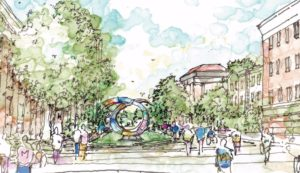 A new public art piece will honor the U-M staff.