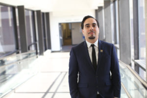 Edras Rodríguez-Torres, was born Puerto Rico but grew up in Grand Rapids, Mich., is one of the three fellows part of a new Resident Librarian program that focuses on diversity at University of Michigan.
