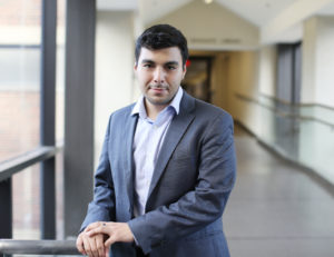 Jesus Espinoza from San José, California., is one of the three fellows part of a new Resident Librarian program that focuses on diversity at University of Michigan.