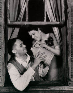 Todd Duncan (Porgy) and Anne Brown (Bess), 1935. Photo courtesy of the Ira & Leonore Gershwin Trusts.
