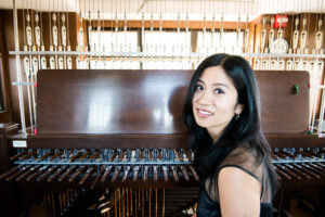 "Tiffany Ng, university carillonist and assistant professor of carillon at the University of Michigan School of Music, Theatre & Dance, will perform Rev. Dorsey's ""Take My Hand, Precious Lord,"" on the Burton Memorial Tower carillon on April 4.Photoby Michael Pihulic."