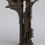 William Tarr, Study forGates of the Six Million, ca. 1980, bronze. University of Michigan Museum of Art, Bequest of Gertrude Kasle, 2016/2.113