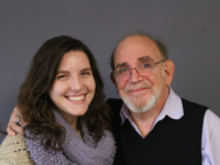Hank Greenspan (right) spoke about his life's work with his former student and friend Ariana Headrick. Photo courtesy StoryCorps.