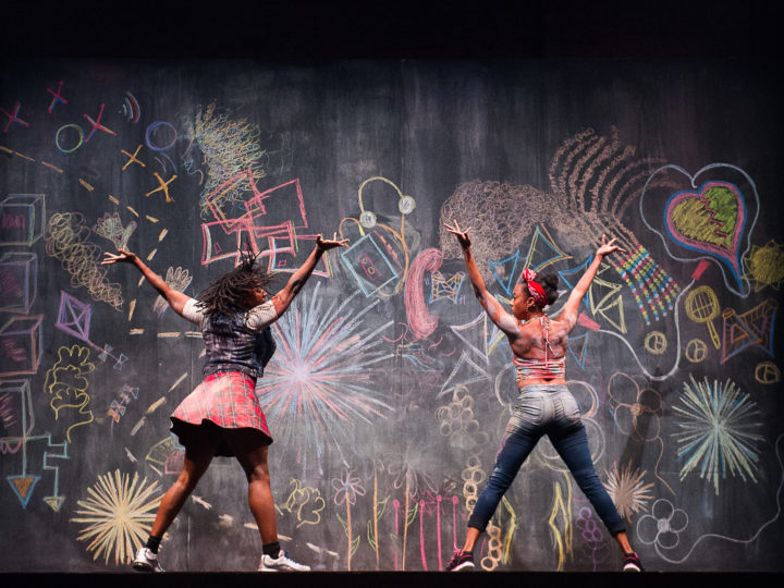 U-M School of Music, Theatre & Dance rising senior Kandis Terry will complete her 21st Century Artist Internship in NYC with Camille A. Brown & Dancers (pictured). Photo by Christopher Duggan.