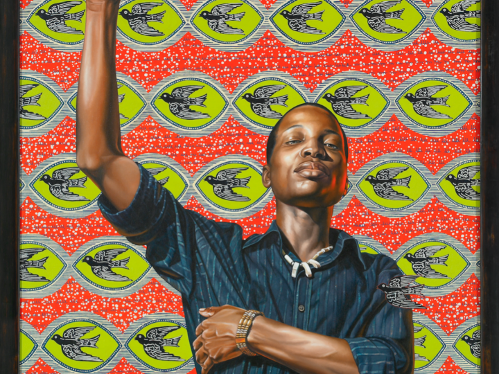 """Kehinde Wiley. """"On Top of the World,"""" 2008, oil on canvas. Courtesy of Aishti Foundation, Beirut © Kehinde Wiley"""