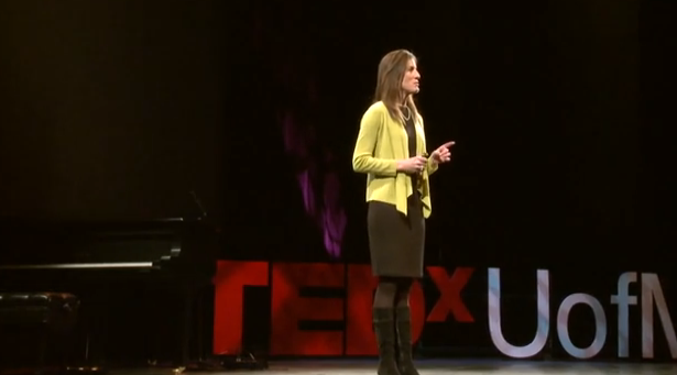 "Anne Curzan, Arthur F. Thurnau Professor of English and associate dean for Humanities, says Ted Talks are ""ideas worth spreading."""