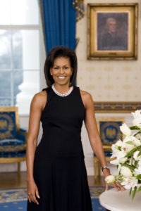 First Lady Michelle Obama, Joyce N. Boghosian, 2009, courtesy The White House