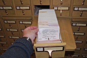 Millions of reference cards will be removed from the basement floor in the U-M Hatcher Graduate Library.