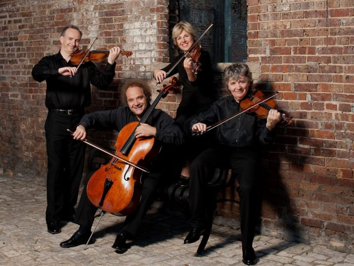 The Takács Quartet. Photo by Ellen Appel.