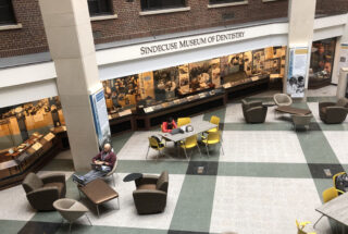 Sindecuse Museum Student Reflections Exhibit Atrium Photo 2019
