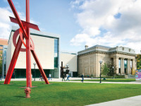 The U-M Museum of Art.