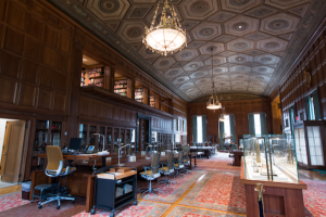 Located on central campus, the U-M William L. Clements Library is home to one of the most comprehensive collections of early American history in the world.