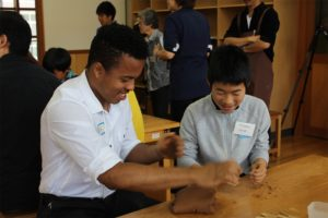 Stamps students in the Art for Social Change program traveled to Japan in May 2016.