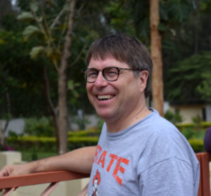 Professor Stephen Rush in India (Photo Credit: Kevin Allswede)