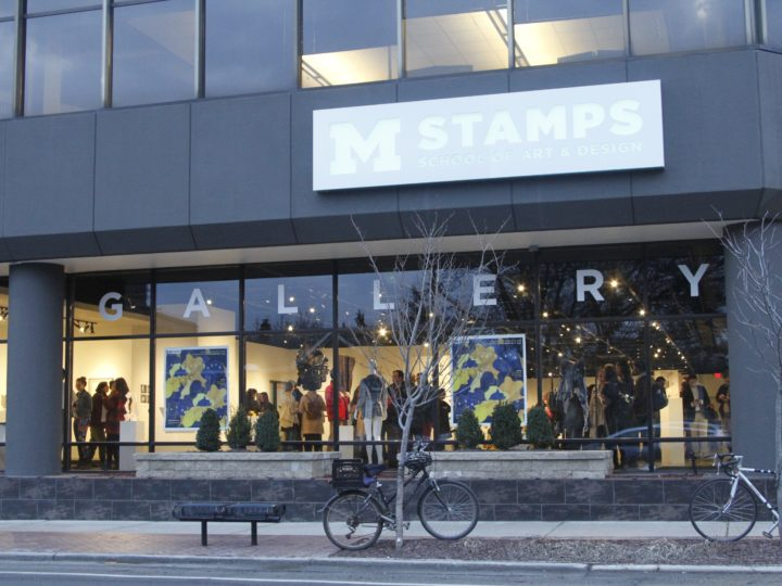 The new Stamps Gallery is located first floor of the McKinley Towne Center at 201 S. Division St. in downtown Ann Arbor.