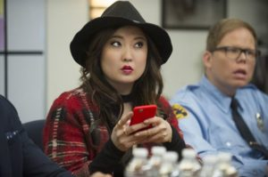 """University of Michigan graduate Ashley Park, who recently made her television debut on the season 2 premiere of Pop TV's """"Nightcap,"""" has been cast in a leading role for the Broadway adaptation of the film """"Mean Girls."""""""