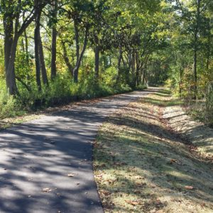 A paved, two-mile hiking and biking path will connect the botanical gardens with a network of trail systems throughout Ann Arbor.