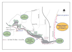 A map of the trail.