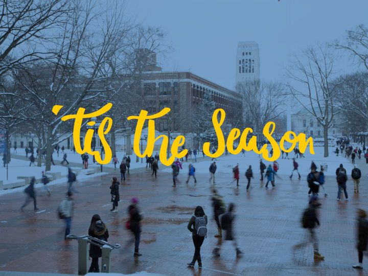 The University of Michigan welcomes one and all to its many museums, gallery exhibitions, and holiday events. Photo by Scott Soderberg.