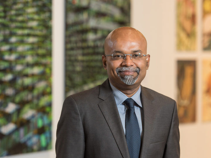 Gunalan Nadarajan, Penny W. Stamps School of Art & Design Dean.