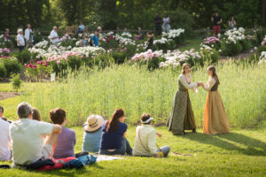 "The University of Michigan's ""Shakespeare in the Arb"" performances take place at Nichols Arboretum every June. Photo from a past performance of ""A Midsummer Night's Dream"" by Scott Soderberg, Michigan Photography."