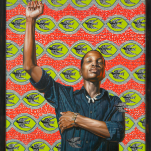 "Kehinde Wiley. ""On Top of the World,"" 2008, oil on canvas. Courtesy of Aishti Foundation, Beirut © Kehinde Wiley"