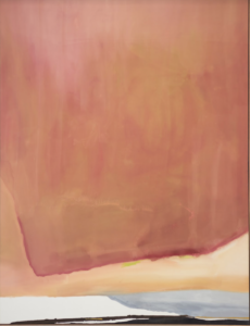 Helen Frankenthaler, Sunset Corner, 1969, acrylic on canvas. University of Michigan Museum of Art purchase.