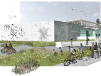 """A rendering of 133 Commerce Park in Jackson, Miss., one of the projects included in """"Fertile Ground."""""""