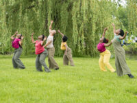 A dance professor and a Great Lakes researcher from U-M team-up to bring Detroit school kids closer to nature through facilitating a variety of creative activities on Detroit's Belle Isle.