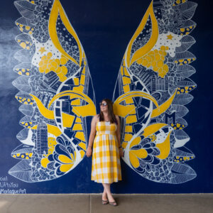 The Michigan Wings mural on E. Williams St and Maynard St. offer a popular Instagram photo op.