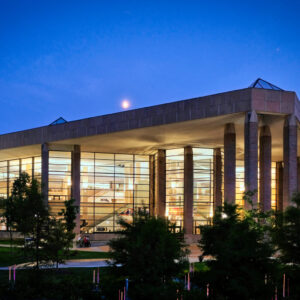 The James and Anne Duderstadt Center opened in 1996 as the Media Union and will mark its 25th anniversary with an open house-style week of events Oct. 4-8. (Photo courtesy of Duderstadt Center staff)