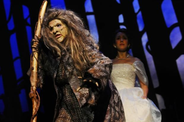 "Presented by the Department of Musical Theatre in U-M's School of Music, Theatre & Dance, ""Into the Woods"" will be performed through Oct. 24 at Mendelssohn Theatre."