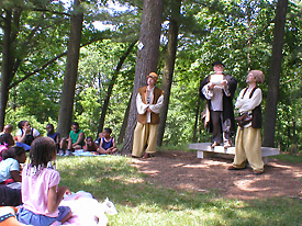 "This year, Shakespeare in the Arb returned with ""A Midsummer Night's Dream."""