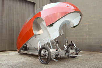 Image of the Zeppelin. Image courtesy Future Cycles.