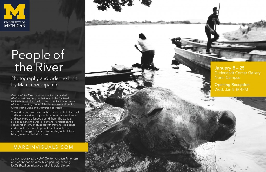 People of the River: Photography and video exhibit by Marcin Szczepanski