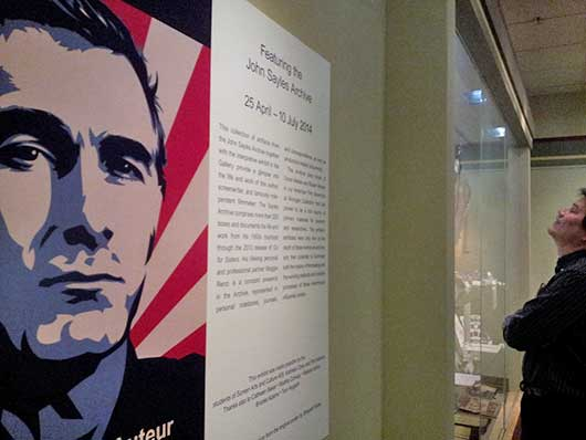 John Sayles exhibit photo by Mariam Negaran