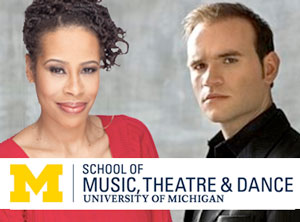 SMTD alumni playwright Dominque Morriseau and tenor Michael Fabiano