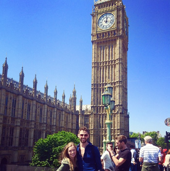 Maeve and Michael took over the @umichsmtd Instagram account during their trip. This photo was taken of the Big Ben in London!